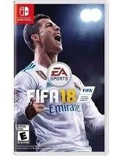 Jogo Fifa 18 Card Switch