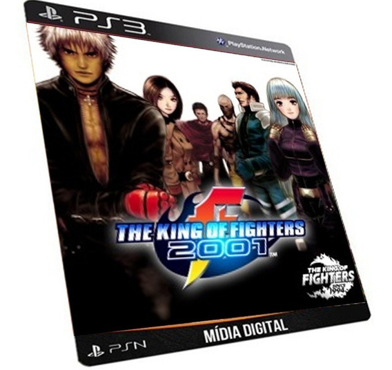 The King Of Fighters 2001 Ps3 Game Digital Psn