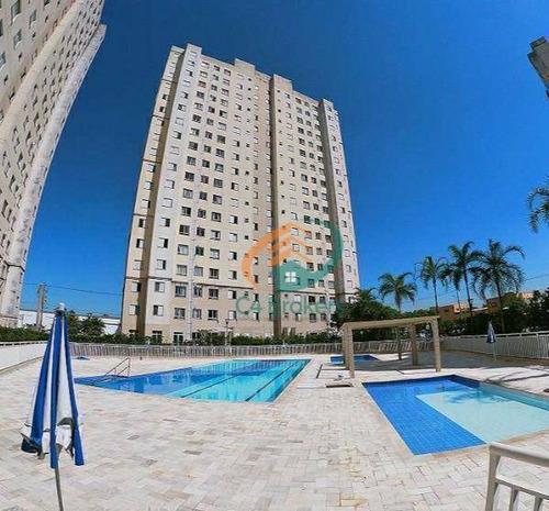 Imagem 1 de 21 de Apartamento Com 2 Dormitórios À Venda, 45 M² Por R$ 235.000,00 - Ponte Grande - Guarulhos/sp - Ap3691
