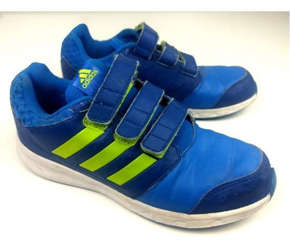 Tênis adidas Originals Infantil Sport Azul/verde
