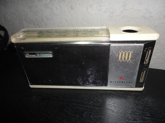 Caixa De Radio Antigo Mitsubishi 8x-808