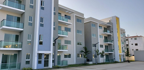 Imagen 1 de 14 de Apartamentos En 3er Nivel En Planos Con Gimnasio Wpa31 B