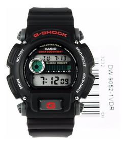 Relogio Casio G-shock Dw9052-1v Original Na Caxa