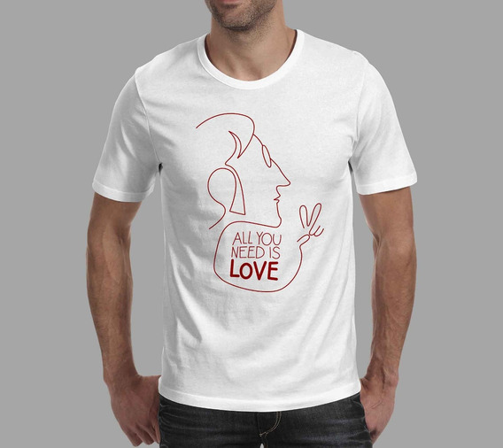 Camiseta John Lennon - Branca