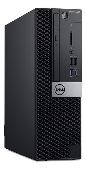 Desktop Dell Optiplex 7070 Sff /i7-8700 4.6/16gb/ 256gb Ssd