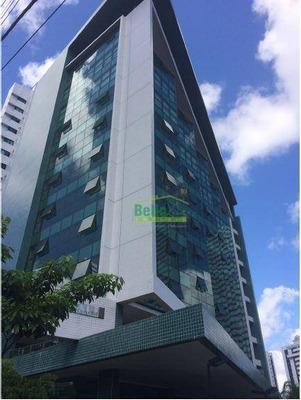 Sala Para Alugar, 160 M² Por R$ 35.000/mês - Casa Forte - Recife/pe - Sa0099