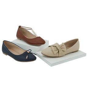 Flats Casuales Al 3x1 Para Dama 020519 Tp19