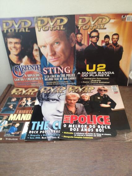 Revista Dvd Total 3, 7,14, 16, 19, 25 - Só As Revistas