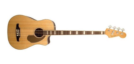 Ftm Bajo Electroacustico Fender Kingman Bass Natural