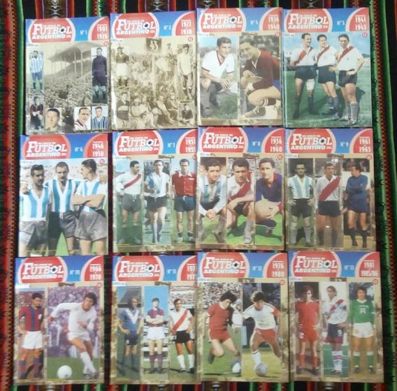 Un Siglo De Fútbol Argentino. 1901 A 2000. 16 Fascículos.