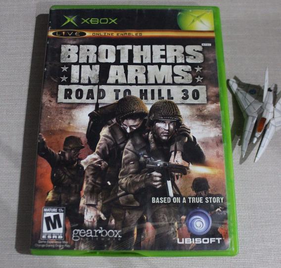 Brothers In Arms Road To Hill 30 [ Xbox Original Classico ] Midia Fisica - Carta Registrada
