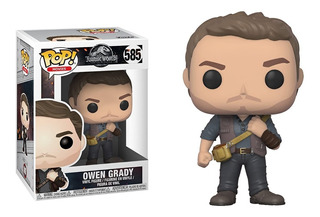 Funko Pop Owen Grady #585 Jurassic World Regalosleon