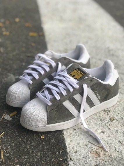 Tênis adidas Super Star Camurça Cardaço Bboy Unissex