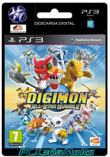 Ps3 Juego Digimon All-star Rumble Pcx3gamers