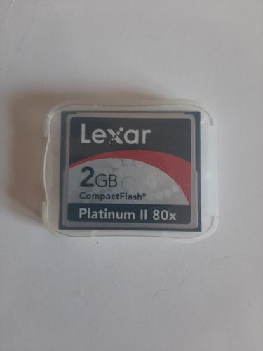 Cartão Memória 2 Gb Platinum Ii 80x