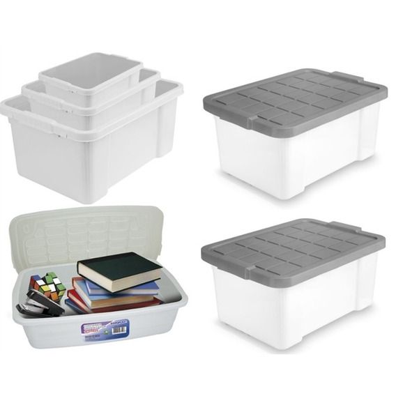 Kit Combo Organizador 3 Em 1 Brinquedos Alimentos E Roupas