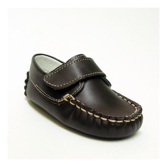 Zapatos Mocasines Para Niño 57000 Mini Burbujas 11 - 13 Piel