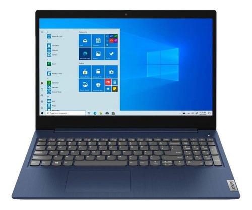 "Imagen 1 de 7 de Laptop Lenovo IdeaPad 15IML05  abyss blue táctil 15.6"", Intel Core i3 10110U  8GB de RAM 256GB SSD, Intel UHD Graphics 620 1366x768px Windows 10 Home"