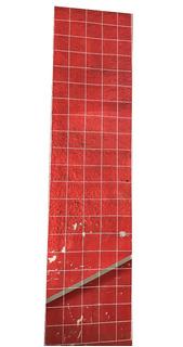 3 Rejas Malla Para Exhibir Alambre Blanca 50cmx2.00m