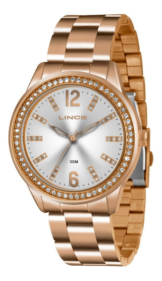 Relógio Feminino Lince Lrr4441l S2rx