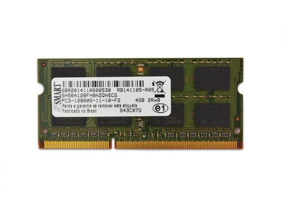 Memória Smart 4gb Notebook Ddr3 Pc3-12800s 2rx8 1600mhz