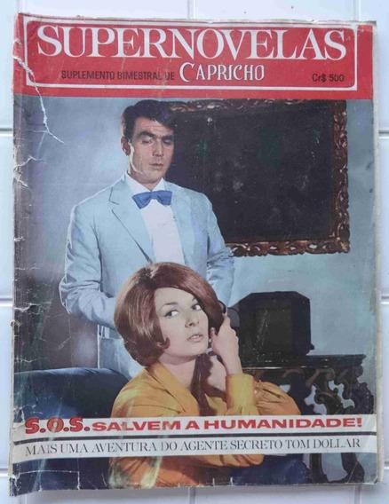 Supernovelas Capricho Nº 178 - Sos Salvem A Humanidade 1967