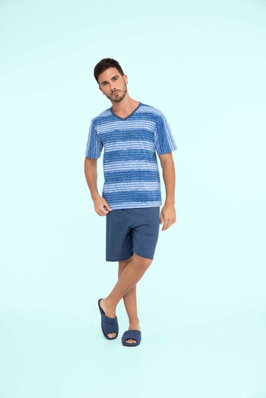 Pijama Masculino Adulto Algodão Aventura - Ref. 13137