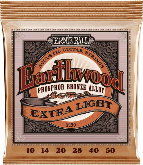 Cuerdas Guitarra Acústica Ernie Ball 2150 Earthwood 10-50