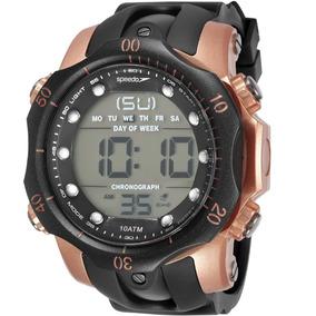 Relógio Speedo Masculino 11005g0evnp2 Big Case Cronômetro