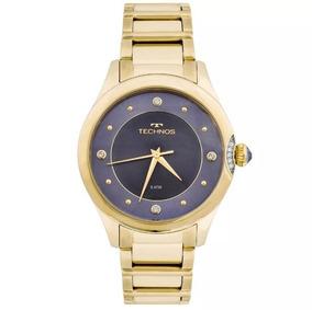 Relógio Technos Feminino Elegance Swarovski 2035mfr/4a