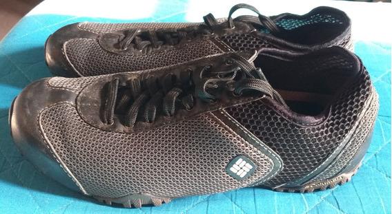 Zapatillas Columbia Color Negro Nro 40