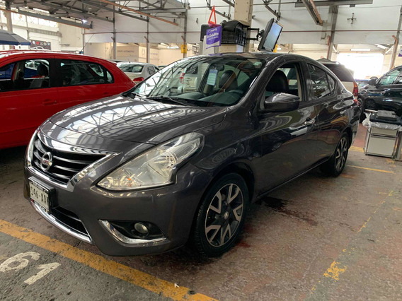 Nissan Versa 1.6 Exclusive Aut Ac 2015