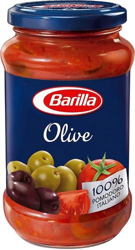 Imagen 1 de 1 de Salsa Italiana Barilla Olive