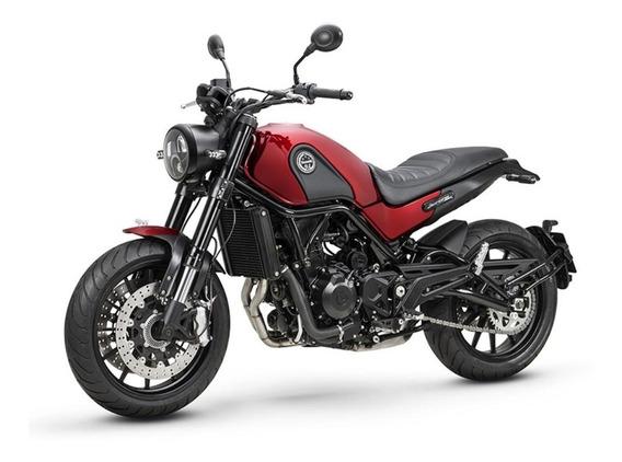 Motocicleta Benelli Leoncino 500 Rojo12 Meses Sin Intereses