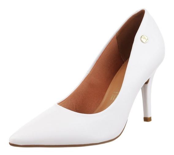 Zapato Mujer Stiletto Blanco Casamiento Vizzano Taco 10 Cm.
