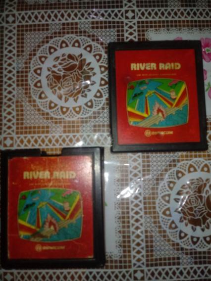 River Raid Atari Original Com Capa Box