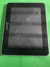 Carcaça Tablet Lenox Tb 8100 +bateria Tela Quebrada