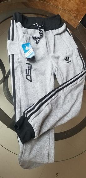 Pants Slim Fit Adidas Ropa, Bolsas y Calzado en Mercado
