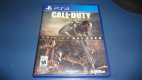 Jogo Call Of Duty Advanced Warfare Ps4 M. Física Frete13real