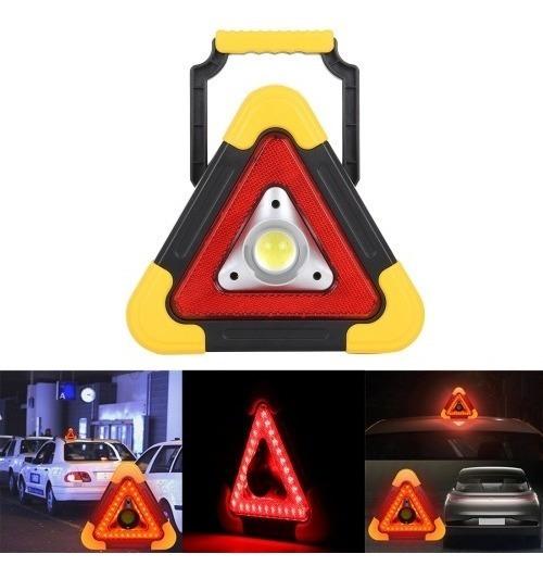 Triângulo Led Carro Sinalização Segurança Emergência Lantern