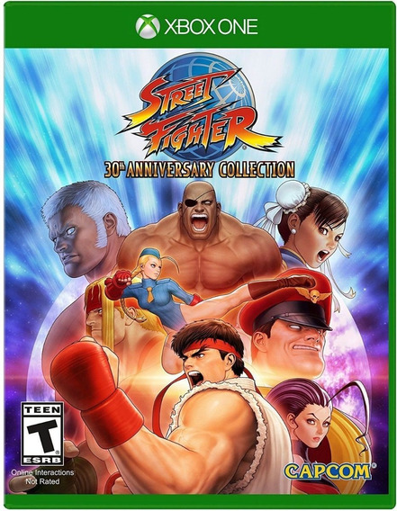 Street Fighter Anniversary Collection Xbox One Mídia Digital
