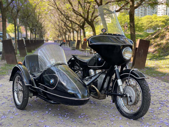 1962 Bmw R60 Sidecar
