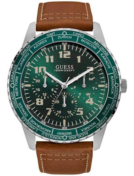 Relógio Masculino Guess Pionner 92729g0gsnc1 Em Aço