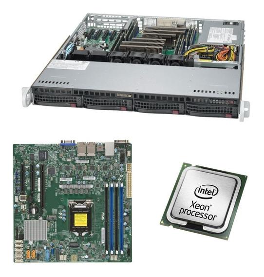 Servidor Intel Xeon E-2146g 16gb Ram 1gb Hd