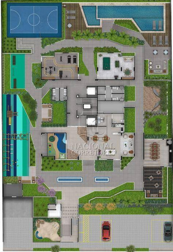 Imagem 1 de 30 de Apartamento Com 2 Dormitórios À Venda, 56 M² Por R$ 390.000,00 - Campestre - Santo André/sp - Ap12277