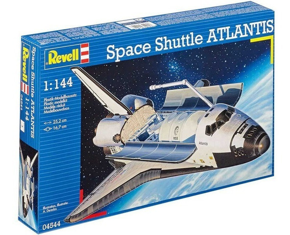 Space Shuttle Atlantis 1/144 Revell 4544