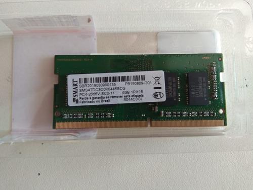 Memória Ddr4 2666 Lenovo 4gb Sodimm Pc4-2666 Sm30t31345