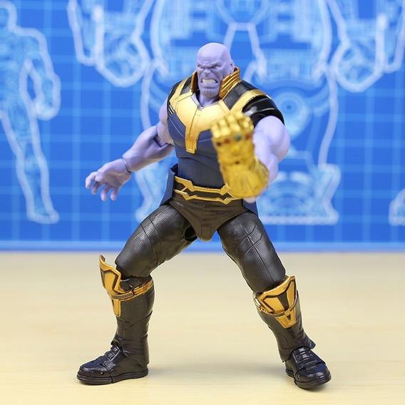 Boneco Thanos Vingadores Action Figure Sh Figuarts Encomenda