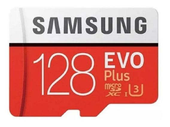 Cartão De Memória Samsung Mb-mc128ga/apc Evo Plus 4k
