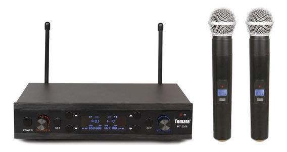 Kit de microfones Tomate MT-2208